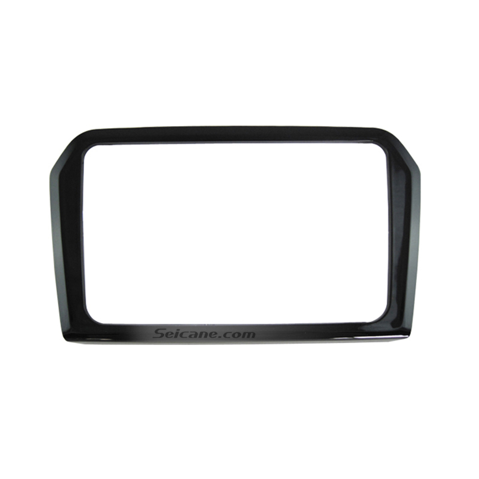 Seicane UV Black 2Din 2013 Volkswagen Jetta Car Radio Fascia Dash CD DVD Frame Trim Panel Audio Cover