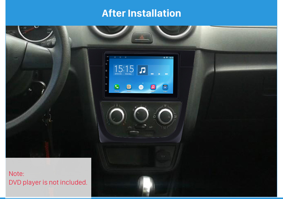 Seicane Best Double Din 2008 Volkswagen Golf G5 Car Radio Fascia GPS Decorative Frame Auto Stereo Trim Bezel