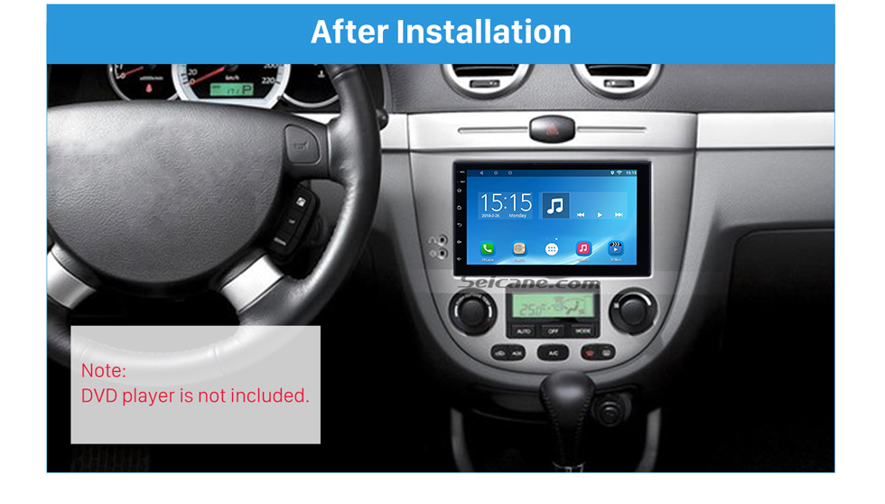 Seicane 173*98mm Double Din 2006 Buick Excelle Car Radio Fascia Auto Stereo Interface Panel DVD Frame Audio Player