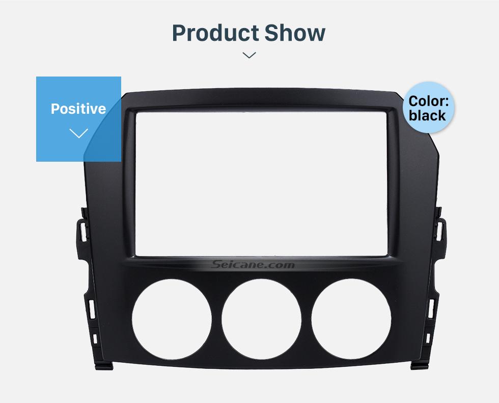Seicane 2DIN 2009 Mazda MX-5 Car Radio Fascia Dash Player Stereo Install Panel Trim Vehicle-mounted Car-styling Kit Frame