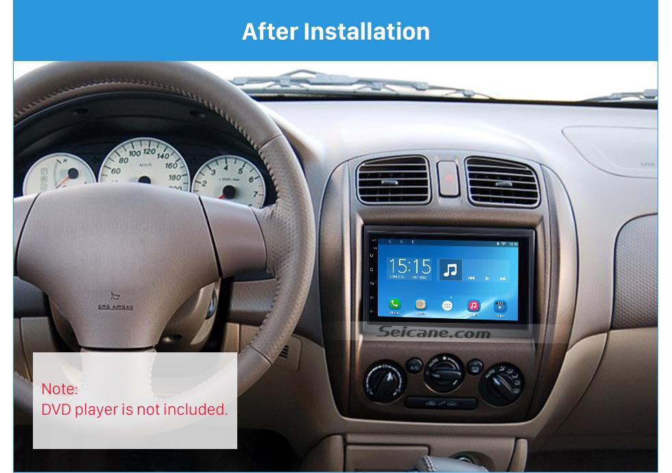 Seicane Popular 178*102 2Din 2002 Mazda Family Car Radio Fascia Dash Mount DVD Frame Panel Kit Car Stereo Installation