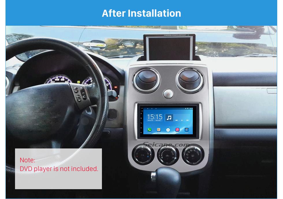 Seicane Superior 2Din 2005+ Mazda Verisa Car Radio Fascia Dash DVD Player Installation Frame Panel kit Dash Mount Adaptor
