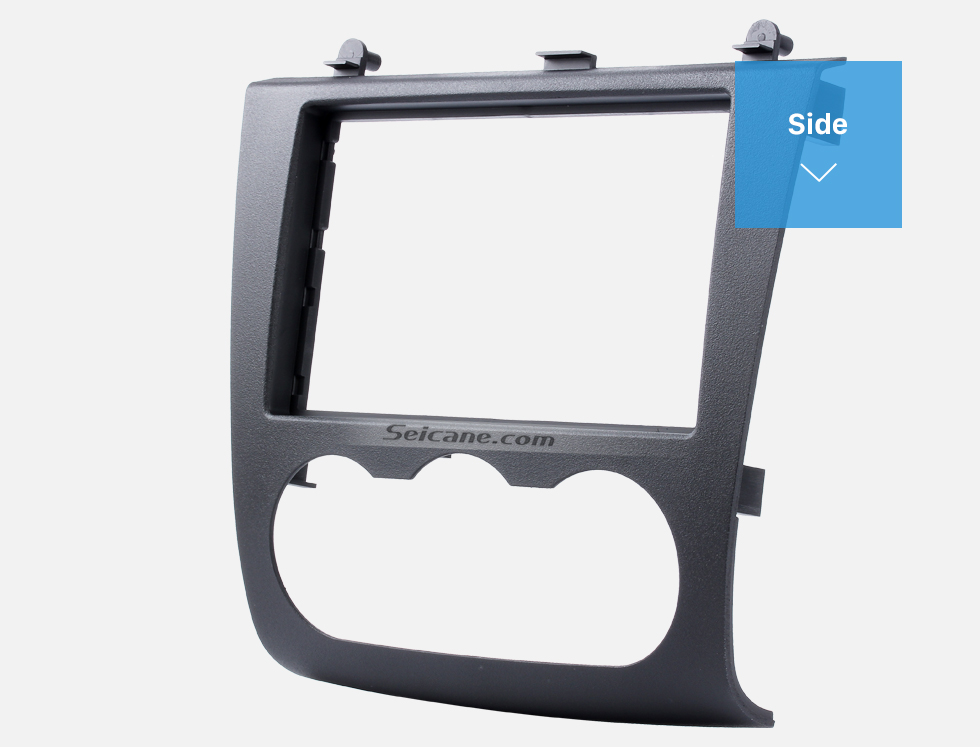 Seicane UV Black Double Din 2006-2012 Nissan Altima Car Radio Fascia DVD Panel Fitting Kit Installation Frame Audio Player