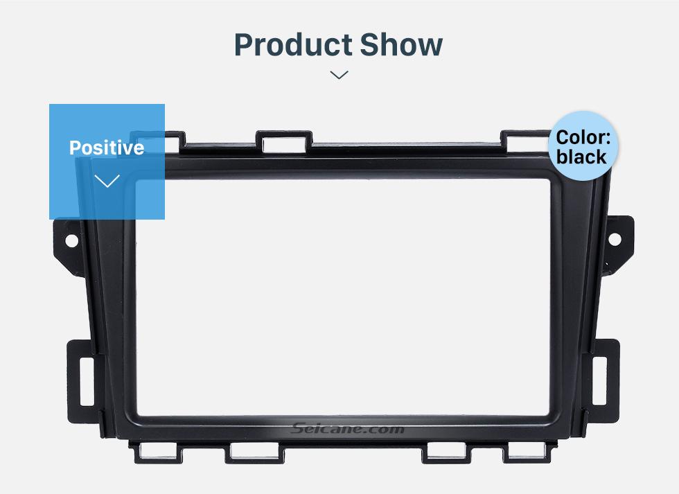 Seicane Premium Quality Double Din 2008-2014 Nissan Murano Car Radio Fascia Stereo Frame Panel CD Trim Audio Fitting Adaptor