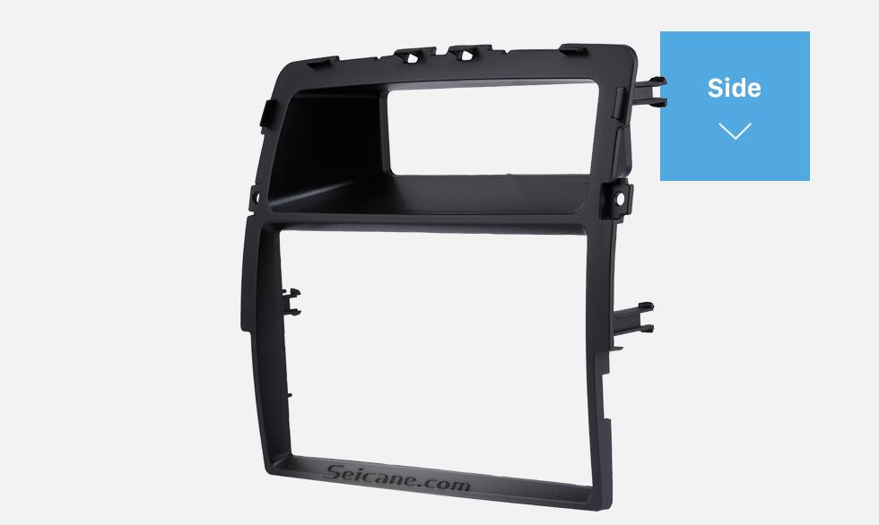 Seicane Black Double Din Nissan Primastar Car Radio Fascia Fitting Kit Installation Frame Panel DVD Stereo Player