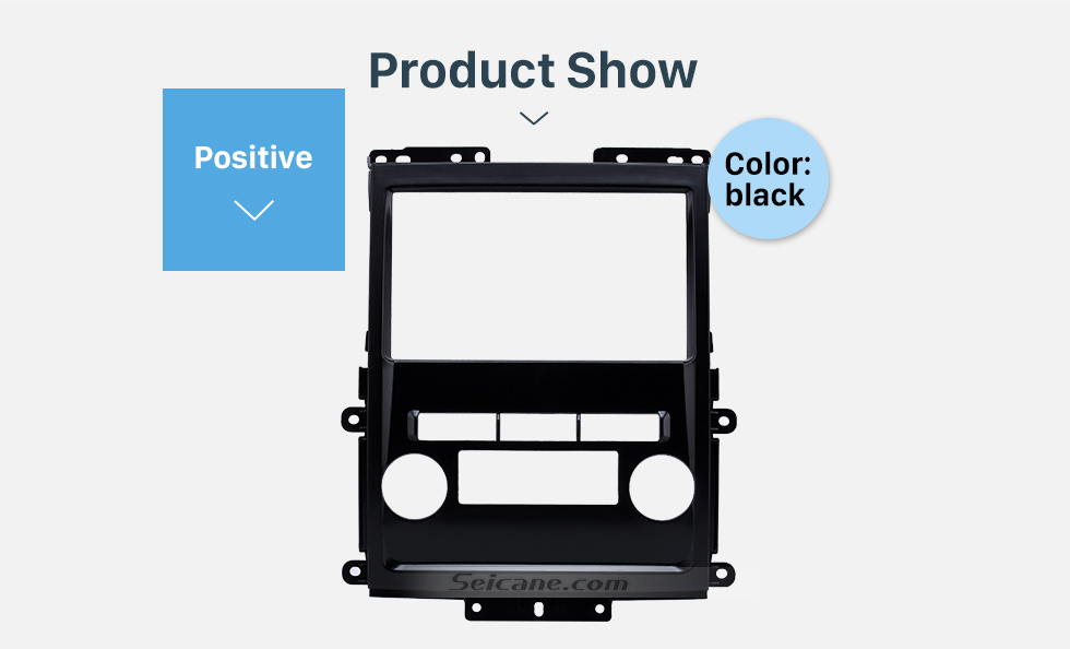 Product Show Black 2Din 2009 Nissan Frontier Xterra Car Radio Fascia Audio Fitting Adaptor Frame Panel Installation