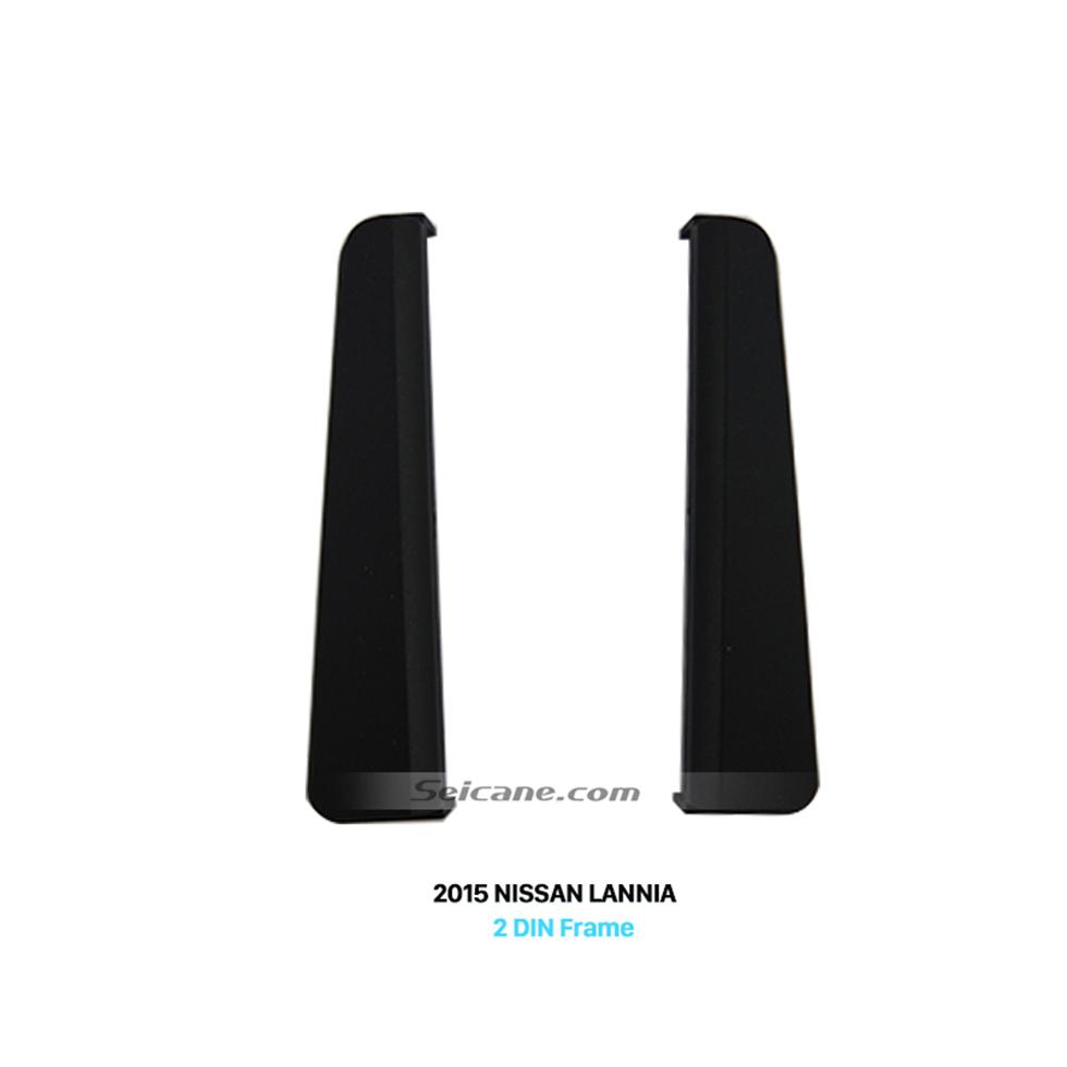 Seicane 173*100mm 2Din 2015 NISSAN LANNIA High End Car Radio Fascia Frame Surround Panel Dash Trim Kits Stereo Install