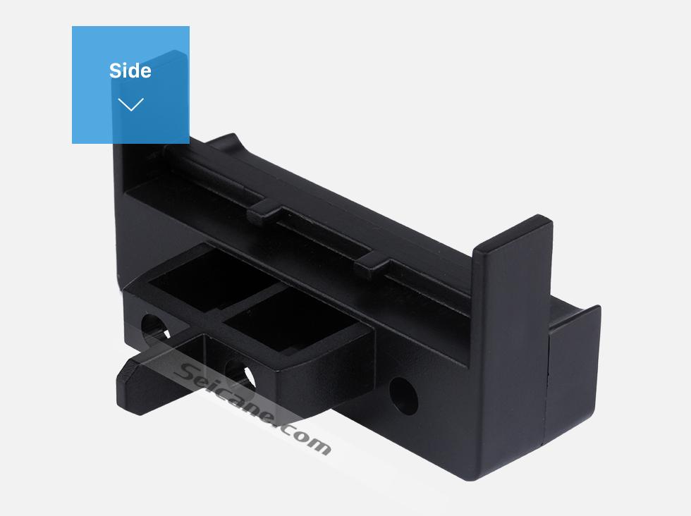 Seicane 1Din 2000+ AUDI A2 2000 AUDI A3 1999-2011 AUDI A4 1999-2004 AUDI A6 Car Radio Fascia Stereo Frame Panel Installation Kit