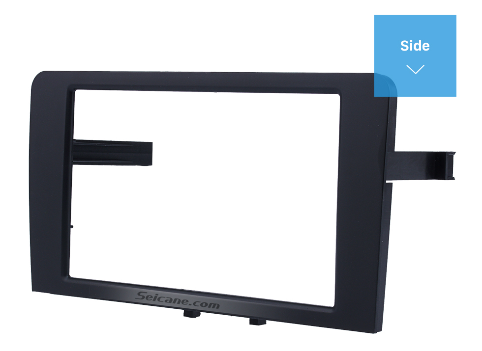 Seicane Black Double Din 2003-2008 Audi A3 Car Radio Fascia Autostereo Panel Kit Audio Frame Trim Installation