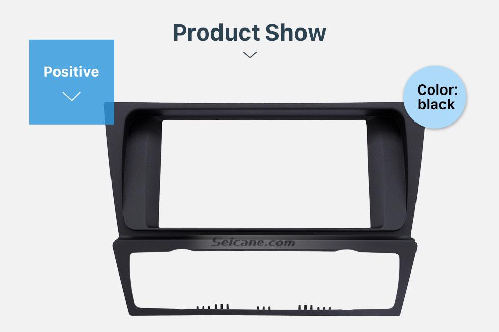 Seicane Top Quality Double DIN BMW 3 E90 E91 E92 E93 Auto AC Car Radio Fascia Dash DVD Player Trim Installation Frame Kit