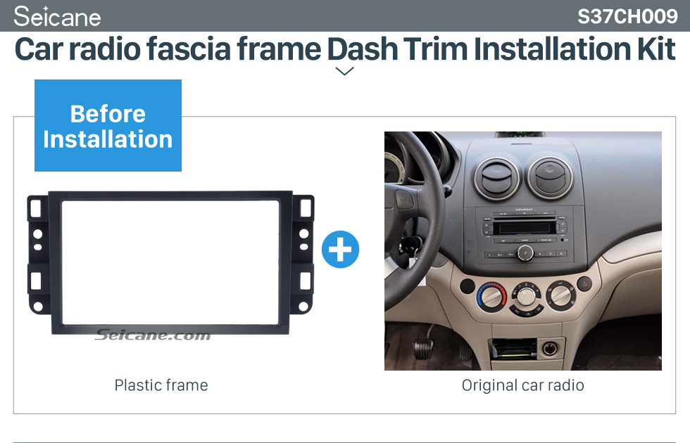 Car radio fascia frame Dash Trim Installation Kit  2 DIN 2006 Chevrolet Lova Captiva Gentra Aveo Epica Car Radio Fascia Stereo Dash Install Trim Panel Car Face Plate Frame Kit