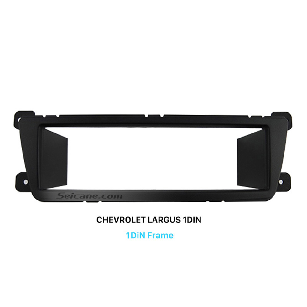 Seicane Top Quality One DIN GM Chevrolet Lada Largus Car Radio Fascia Stereo Refitting Bezel Install Trim Panel Face Plate
