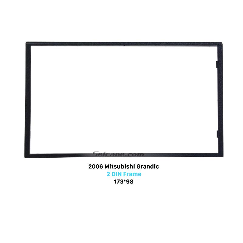 Seicane Fantastic 2Din 2006 Mitsubishi Grandic Car Radio Fascia Auto Stereo Installation Panel Plate Frame Trim Bezel
