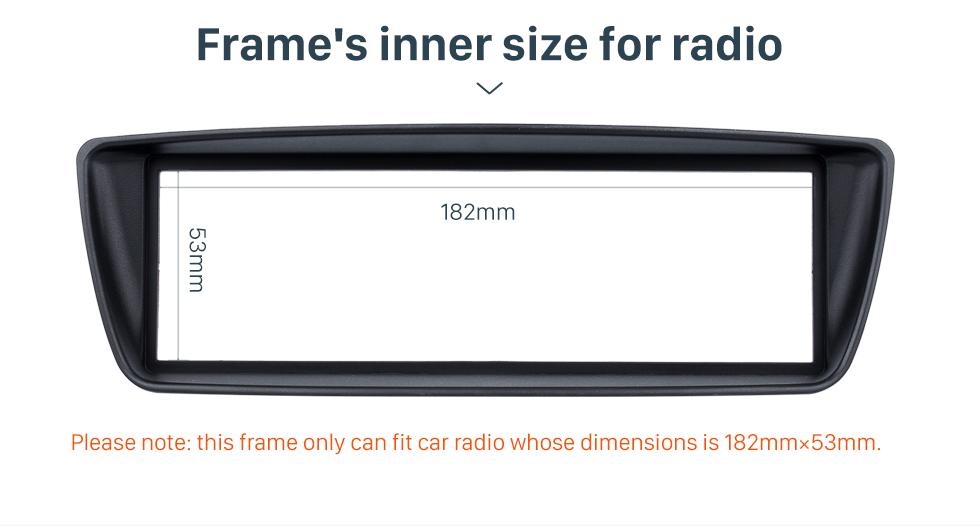 Seicane Best 1Din Citroen C1 Peugeot 107 Toyota Ab Car Radio Fascia Refitting DVD frame Surround Panel Dash Kit