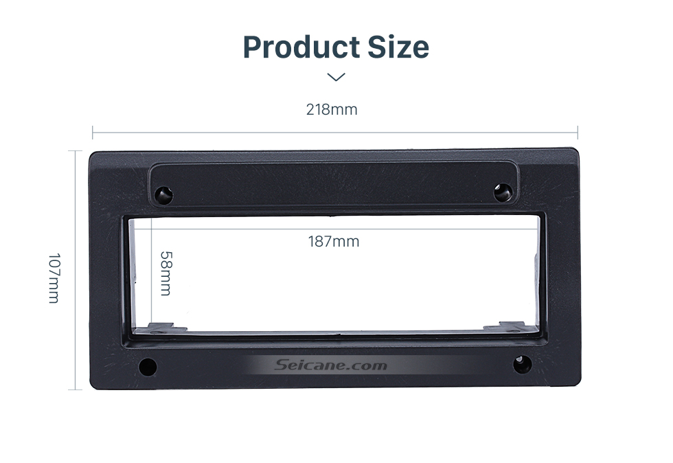 Seicane Hot Sell 1Din Citroen Fukang Car Radio Fascia Dash Trim Kits Frame Panel Audio Player Face Plate