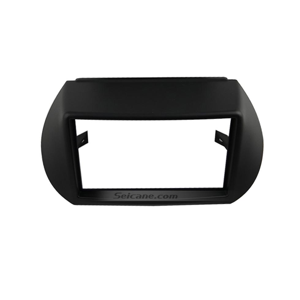 Seicane Black Double Din Citroen Nemo Car Radio Fascia Stereo Dash Panel DVD Frame Fit Installation