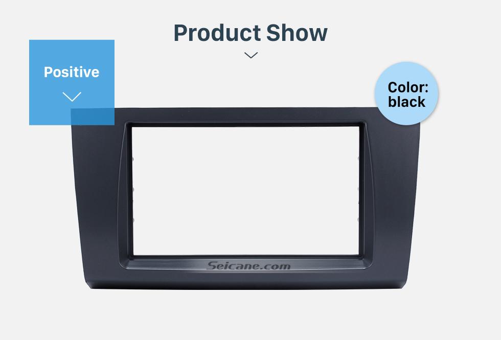 Seicane Wonderful Double Din 2009 Suzuki Swift Car Radio Fascia Stereo Dash Trim Install Frame Face Plate