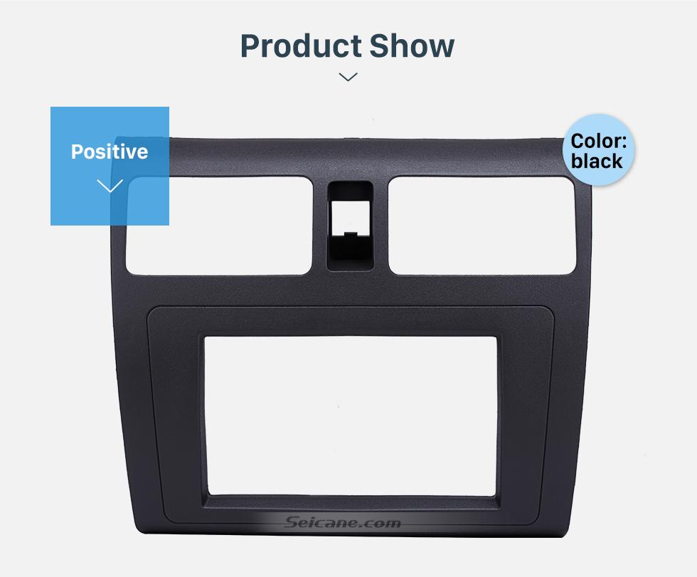 Seicane Great 2Din 2009 Suzuki Swift with Ventilation Car Radio Fascia Audio Frame Panel Face Plate CD Trim