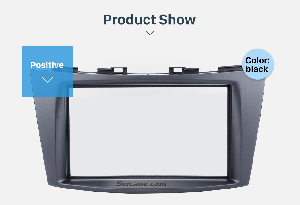 Seicane Popular Double Din 2012 Suzuki Swift Car Radio Fascia Autostereo Panel Kit Fitting Frame DVD Player