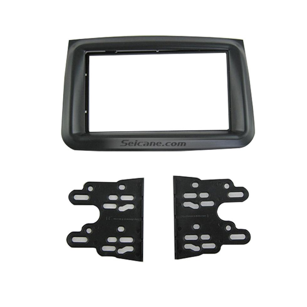 Seicane Black 2Din 2011 Suzuki Bei Dou Xing E+ Car Radio Fascia DVD Frame Stereo Install Dash Mount Kit Adapter