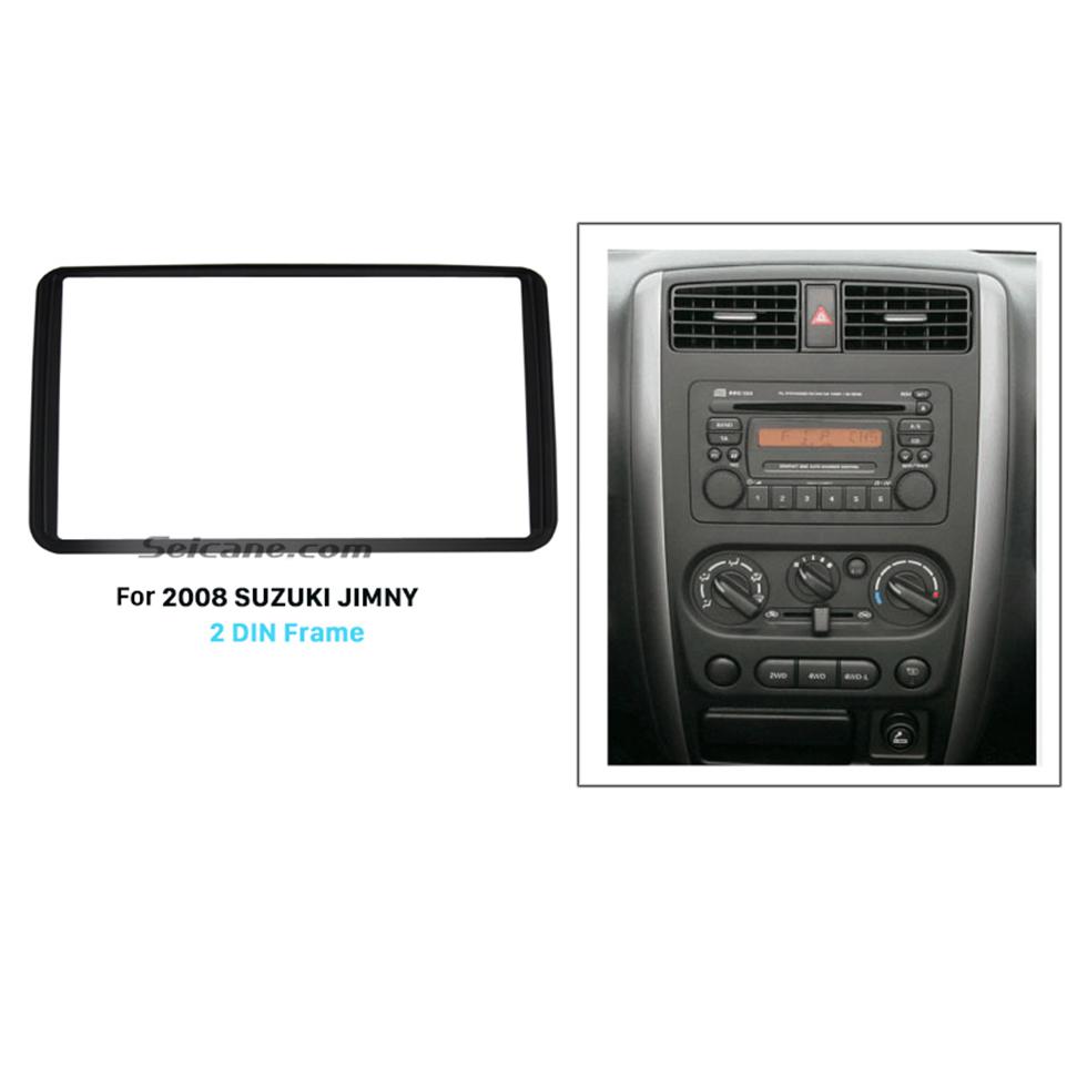 Seicane 173*98mm Double Din 2006 2007 2008 2009 2010 2011 2012 Suzuki Jimmy Car Radio Fascia Audio Frame Dashboard Panel Trim Bezel