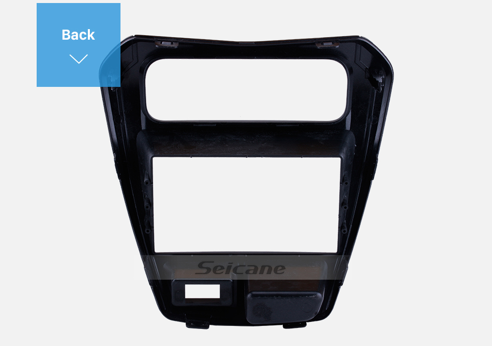 Seicane UV Black Double Din 2014 SUZUKI ALTO 800 Car Radio Fascia Audio Player Panel Frame Auto Stereo