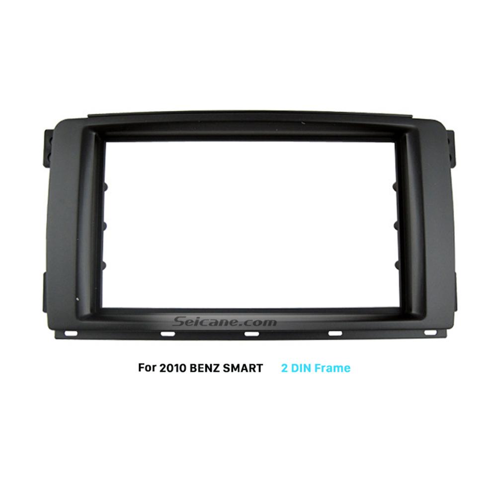 Seicane Elegant Double Din 2010 Mercedes BENZ SMART Car Radio Fascia Install Frame Dashboard Panel Auto Stereo Adapter