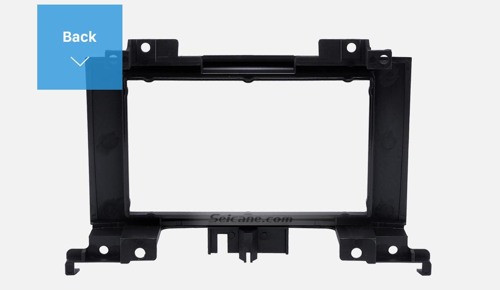 Seicane Black 2 Din 2006 Benz Sprinter/ Volkswagen Crafter Car Radio Fascia DVD Panel Installation Trim Dash Kit Audio Cover Frame