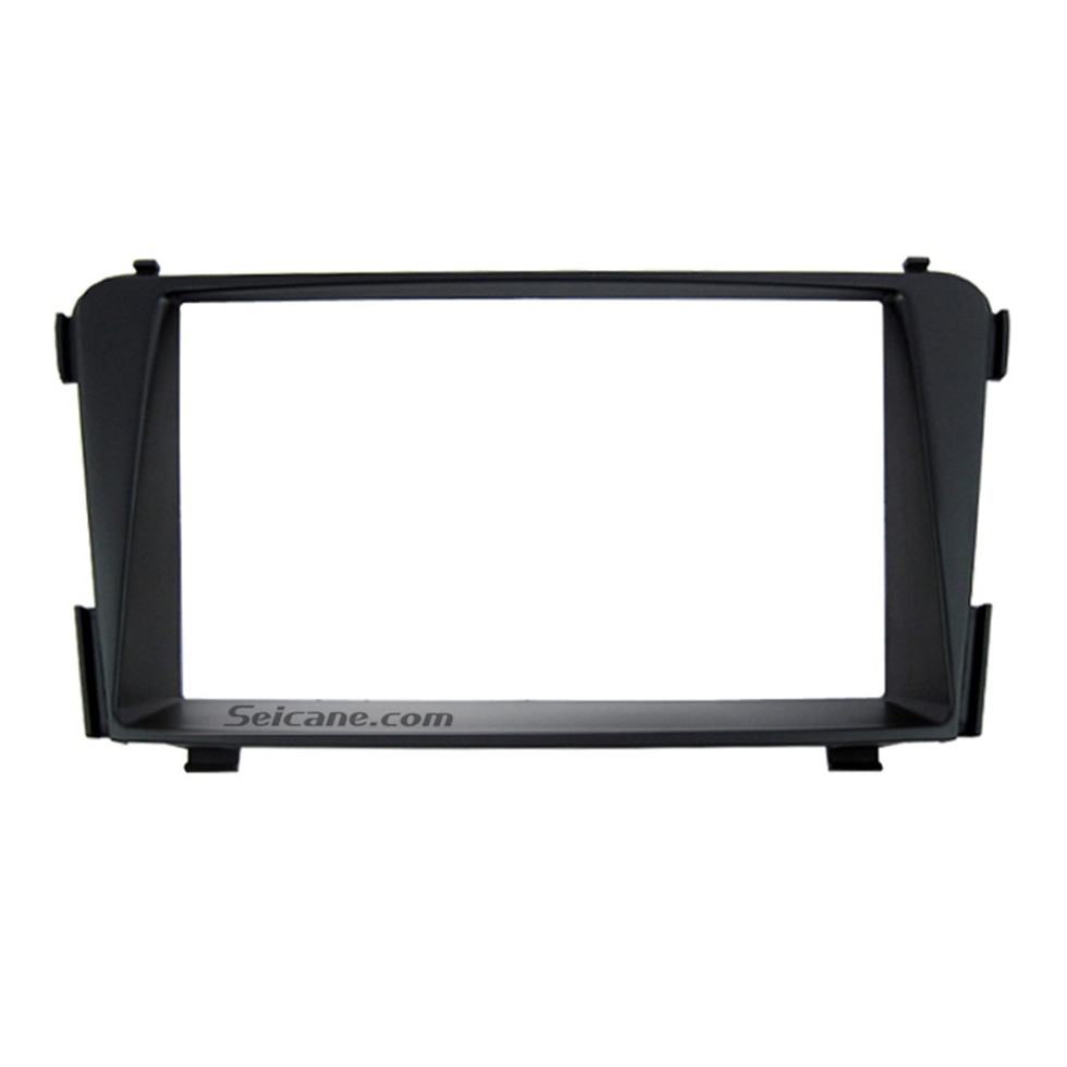 Seicane Great Double Din for 2012 Hyundai i-45 i-40 Car Radio Fascia Trim Dash CD Installation Kit Audio frame