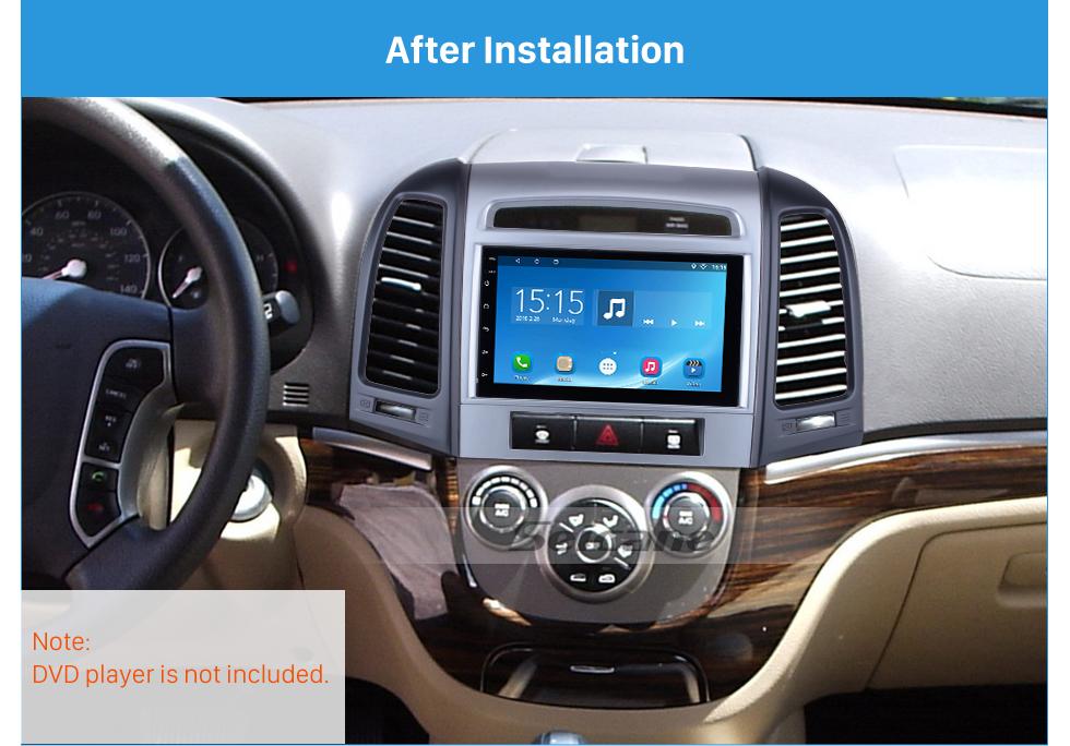 Seicane Professional 2Din 2007 HYUNDAI SANTAFE LOW-END Car Radio Fascia Install Frame Dash CD Auto Stereo Adapter