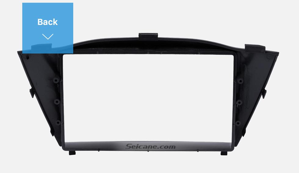 Back Stunning Double Din 2010 HYUNDAI TUCSON IX35 Car Radio Fascia Install Frame DVD panel Stereo Interface