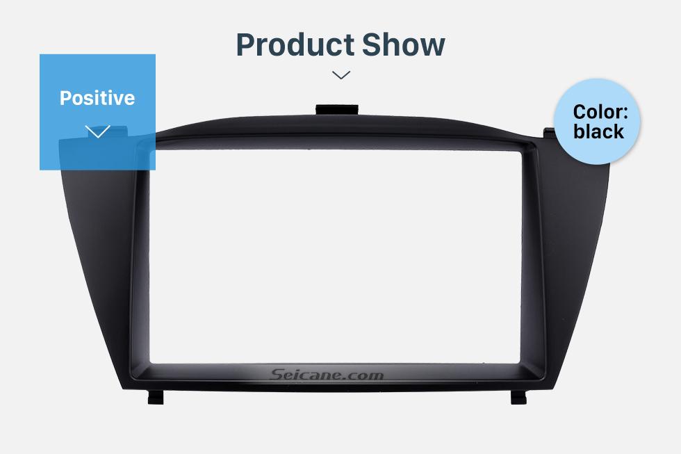 Product Show Stunning Double Din 2010 HYUNDAI TUCSON IX35 Car Radio Fascia Install Frame DVD panel Stereo Interface