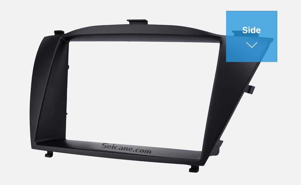 Side Stunning Double Din 2010 HYUNDAI TUCSON IX35 Car Radio Fascia Install Frame DVD panel Stereo Interface