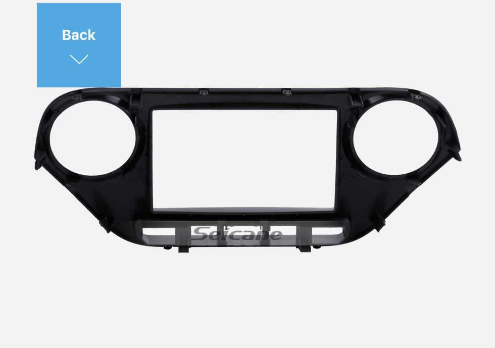 Seicane Newest Double Din 2014 HYUNDAI I-10 HIGH-END RHD Car Radio Fascia Face Plate Panel Dash CD Stereo Install Frame