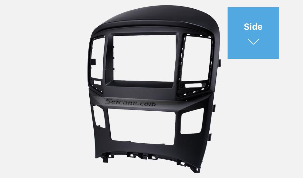 Seicane Peerless Separate Double Din HYUNDAI STAREX H1 Car Radio Fascia Trim Installation Kit DVD Frame Face Plate