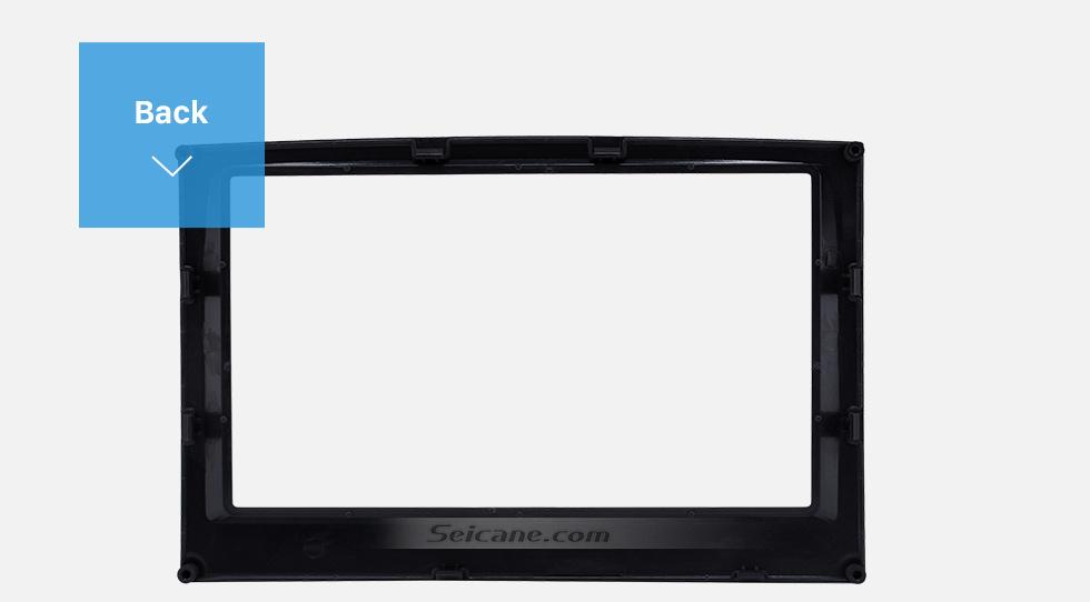 Back Flawless Double Din 2015 KIA SPORTAGE Car Radio Fascia Dash Trim Kits Audio Frame Autostereo Adapter