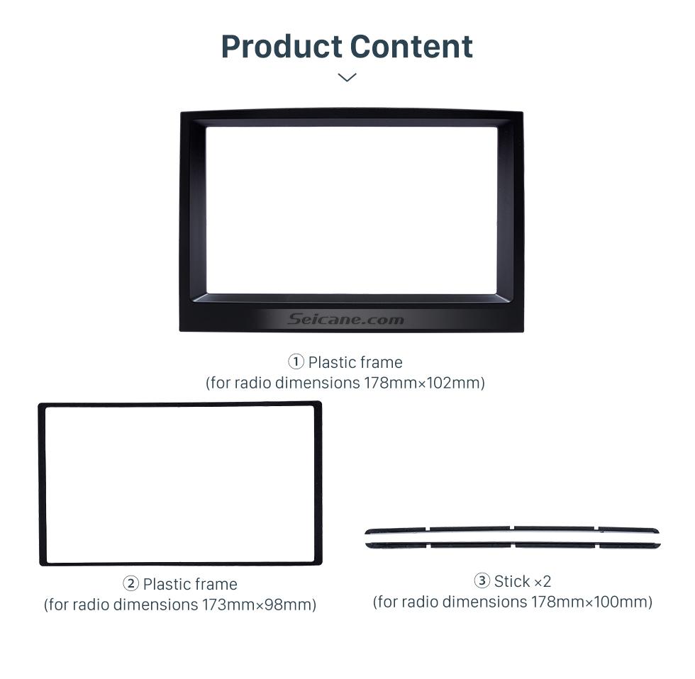 Product Content Flawless Double Din 2015 KIA SPORTAGE Car Radio Fascia Dash Trim Kits Audio Frame Autostereo Adapter