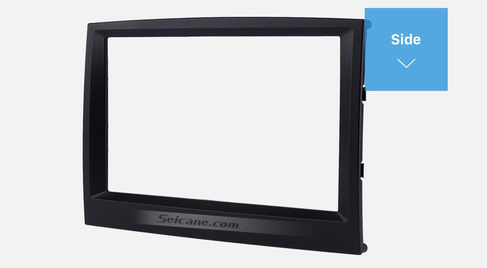 Side Flawless Double Din 2015 KIA SPORTAGE Car Radio Fascia Dash Trim Kits Audio Frame Autostereo Adapter
