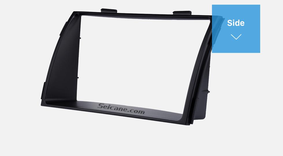 Side Black Double Din 2010 KIA SORENTO Car Radio Fascia Trim Install Frame Autostereo Adapter Dash Kit