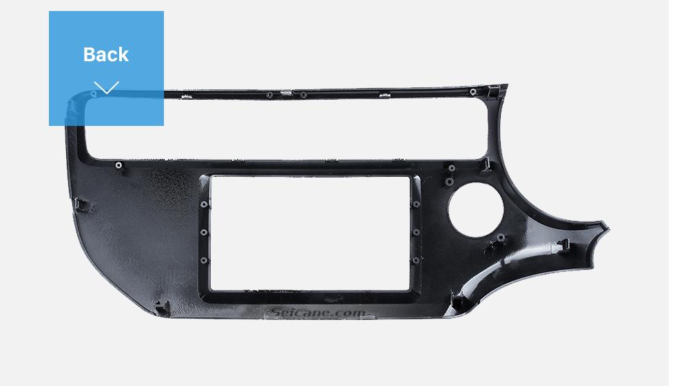 Seicane UV Black Double Din 2015 KIA K3 RIO Left Hand Drive Car Radio Fascia Stereo Interface Panel Kit DVD Frame