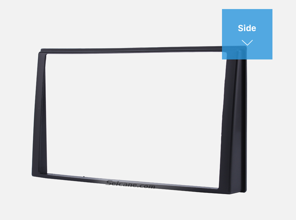 Seicane 173*98mm Double Din Car Radio Fascia for 2006 KIA CERATO Face Plate DVD Frame Panel Dash Mount Kit Adapter