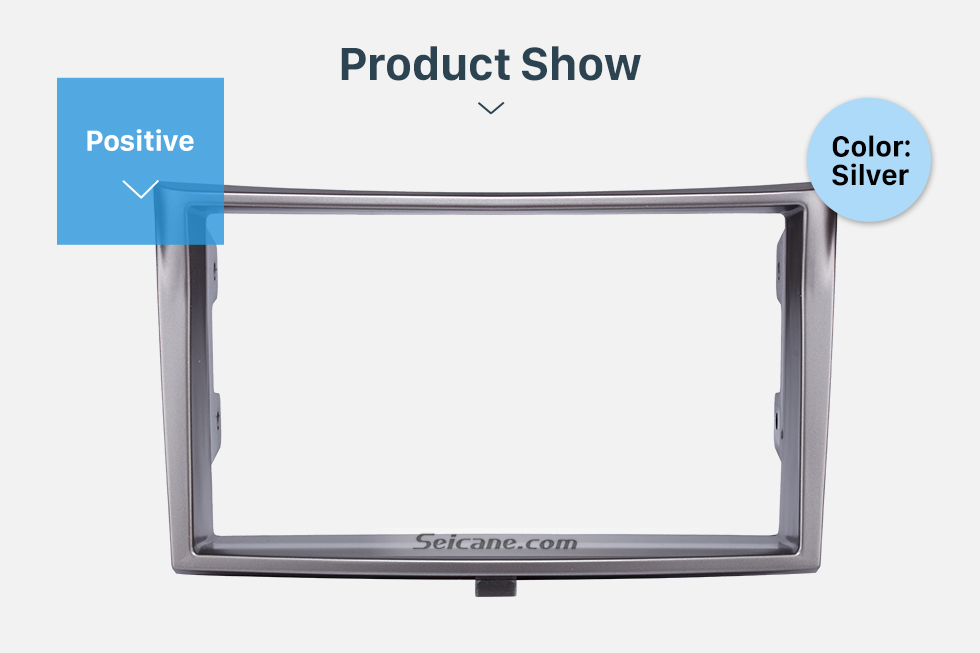 Product Show 173*98/178*100/178*102mm Double Din Car Radio Fascia for 2010+ Subaru Legacy DVD Stereo Trim Panel Dash Mount Plate Frame