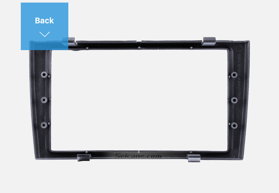 Back Classic 2 Din Car Radio Fascia for 2008+ PEUGEOT 308 Auto Stereo Interface Panel Car Styling Frame In Dash Mount Kit