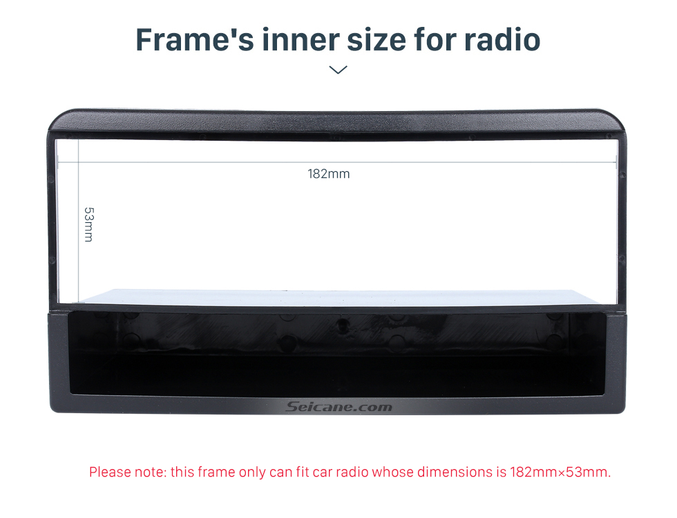 Seicane Perfect 1Din Car Radio Fascia for 1998-2006 Ford Fiesta Focus Auto stereo Adapter Car Styling DVD Frame