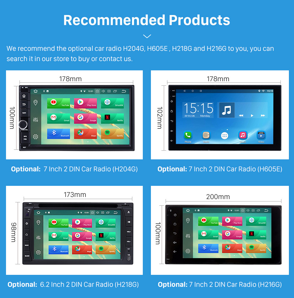 Seicane Hottest Double Din Car Radio Fascia for 2008 2009 2010 Ford Escape Stereo Interface CD Trim Panel Plate Frame