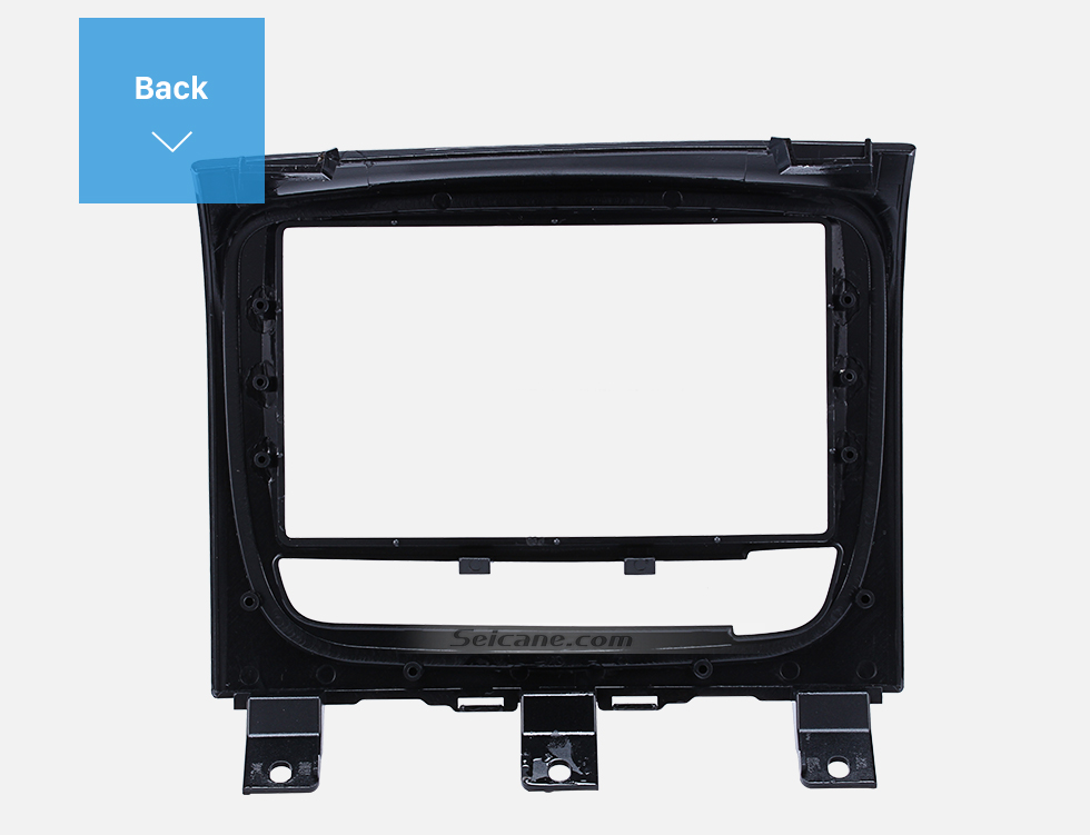 Seicane UV Grey Double Din Car Radio Fascia for FIAT STRADA DVD Panel Refitting Car Kit Audio Frame