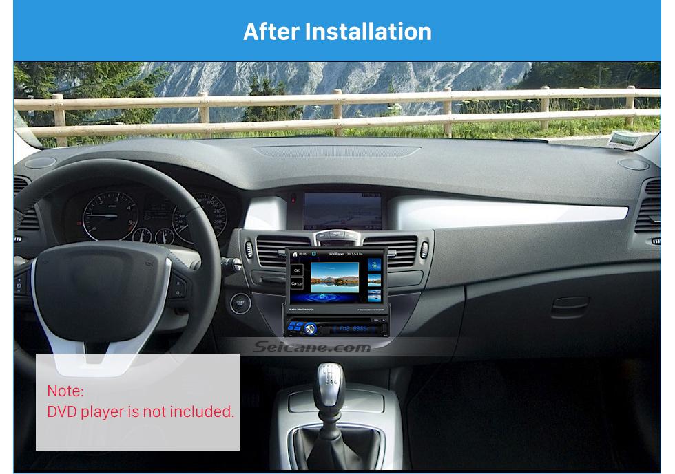Seicane Top Quality 1Din Car Radio Fascia for 2007+ RENAULT LAGUNA In Dash Mount Kit car stereo installation CD Trim Panel