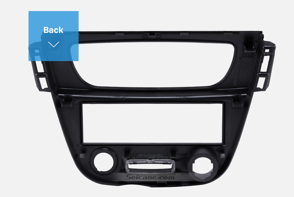Back Newest Black 1 Din car radio Fascia for 2009 RENAULT FLUENCE Auto Stereo Interface Panel Dash Mount Kit Adaptor Trim Bezel