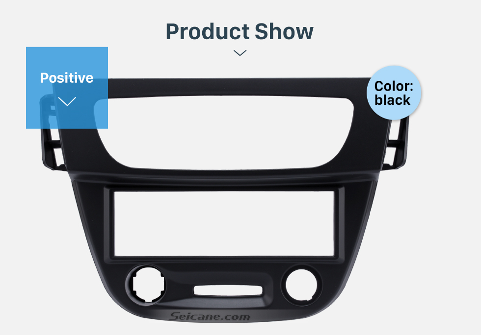 Product Show Newest Black 1 Din car radio Fascia for 2009 RENAULT FLUENCE Auto Stereo Interface Panel Dash Mount Kit Adaptor Trim Bezel