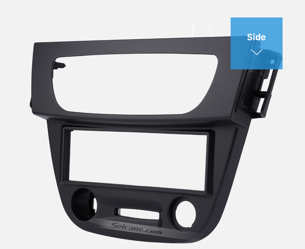Side Newest Black 1 Din car radio Fascia for 2009 RENAULT FLUENCE Auto Stereo Interface Panel Dash Mount Kit Adaptor Trim Bezel